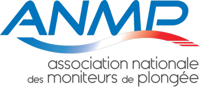 Logo Association nationale des moniteurs de plongée